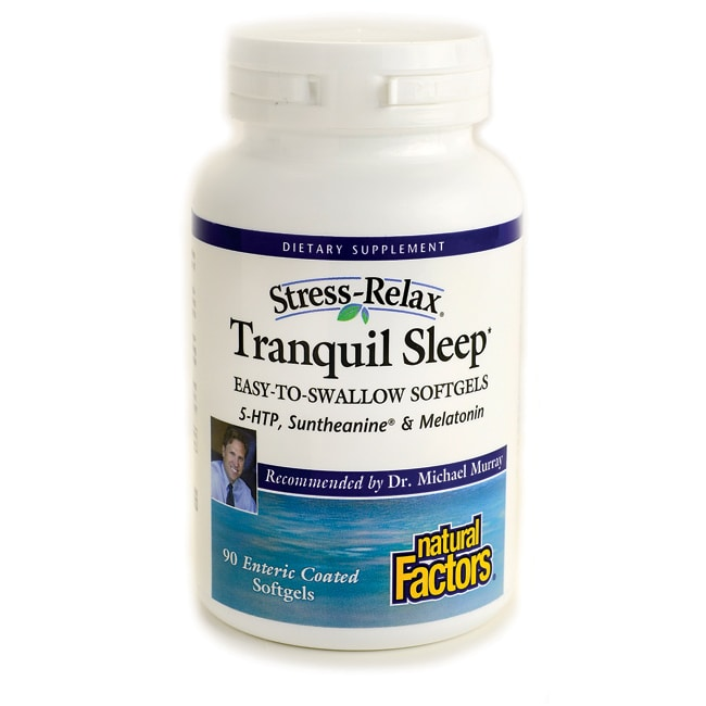 Natural Factors Stress-Relax Tranquil Sleep