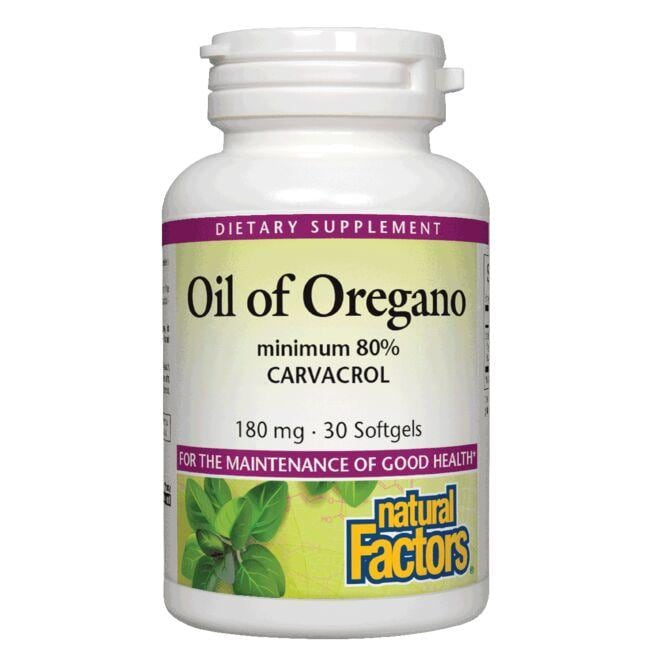 Natural FactorsOil of Oregano