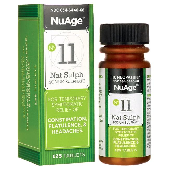 NuAge#11 NATRUM SULPH 6X