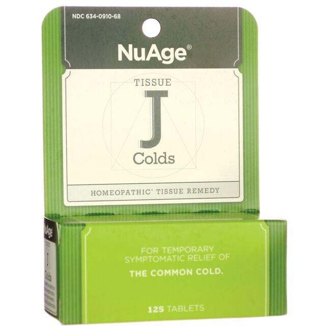 NuAgeTissue J Colds