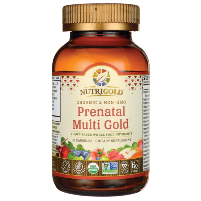 NutriGoldWhole-Food Prenatal Multi Gold