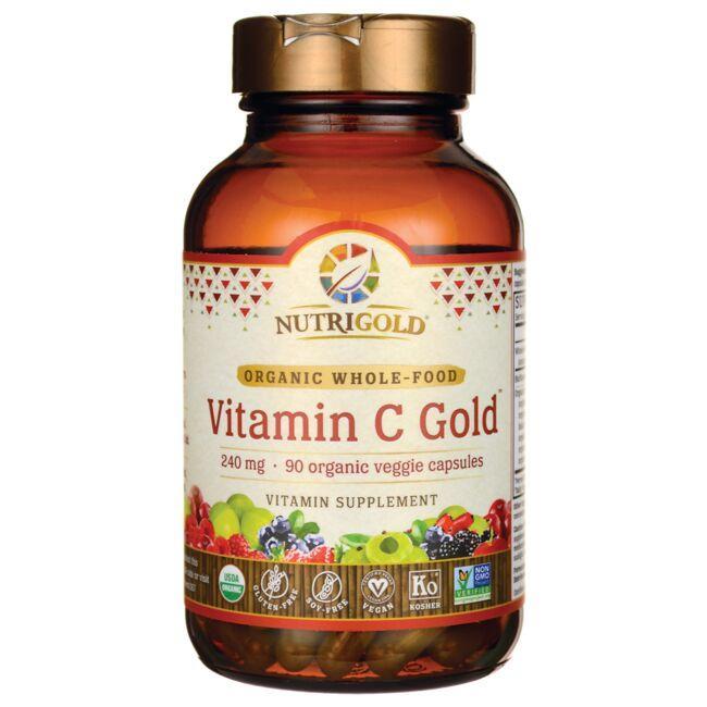 NutriGoldOrganic Whole-Food Vitamin C Gold