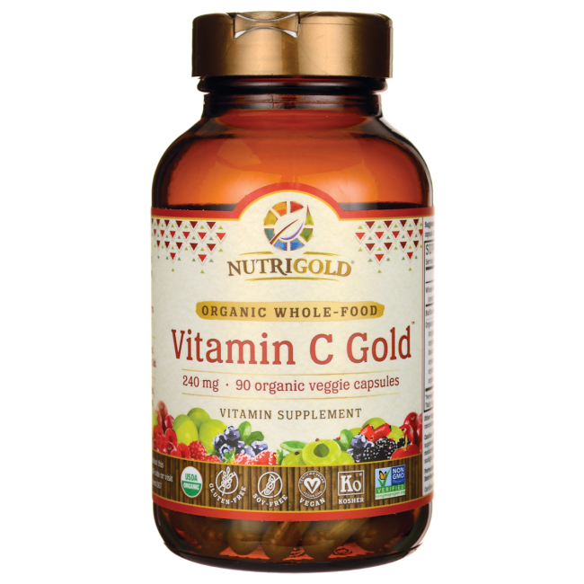 NutriGoldWhole-Food Vitamin C Gold