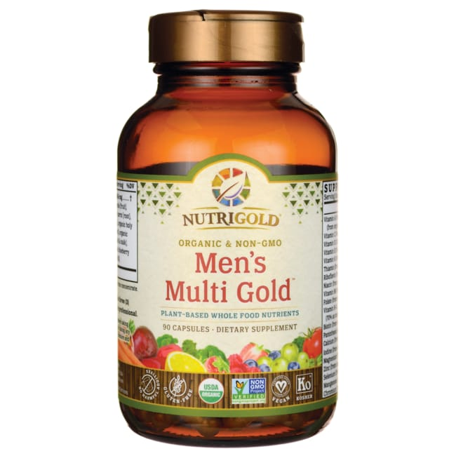 NutriGoldWhole-Food + Food-Based Men's Multi Gold