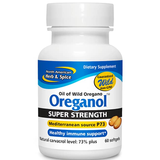 North American Herb & SpiceOreganol Super Strength P73