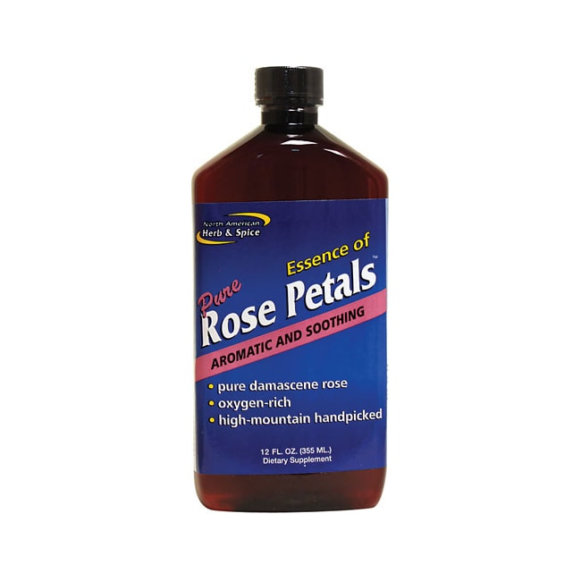 North American Herb & Spice Essence of Pure Rose Petals