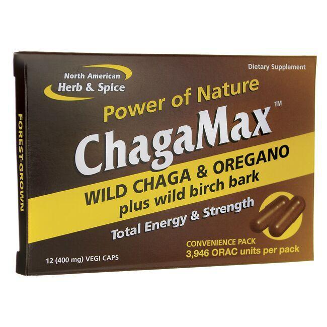 North American Herb & SpiceChagaMax Wild Chaga & Oregano Convenience Pack