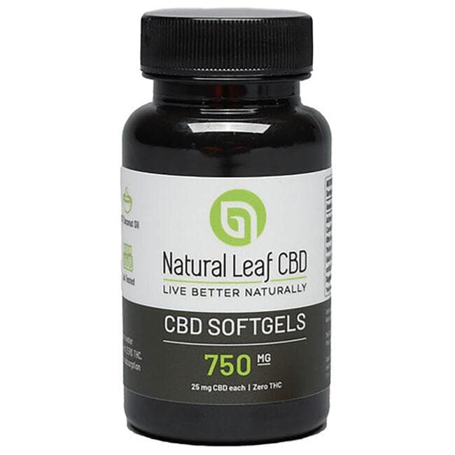 Natural Leaf CBDCBD Softgels