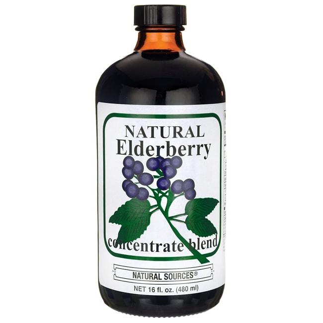 Natural Sources Natural Elderberry Concentrate Blend