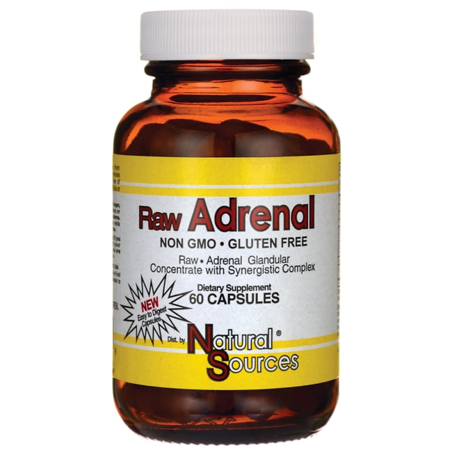 Raw adrenal concentrate