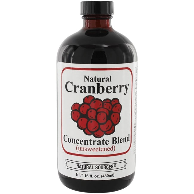 Natural Sources Natural Cranberry Drink Concentrate