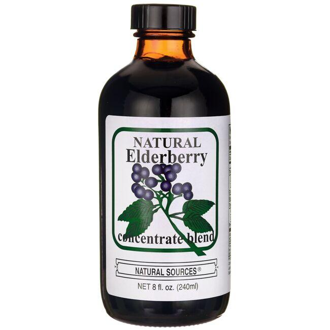 Natural Sources Natural Elderberry Concentrate Blend