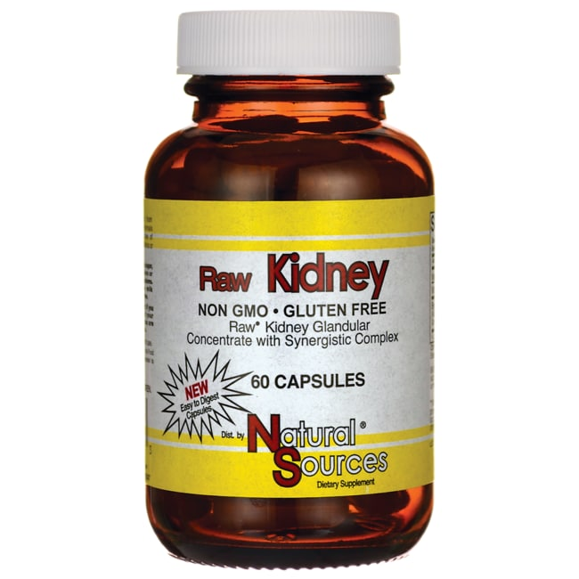 Natural Sources Raw Kidney