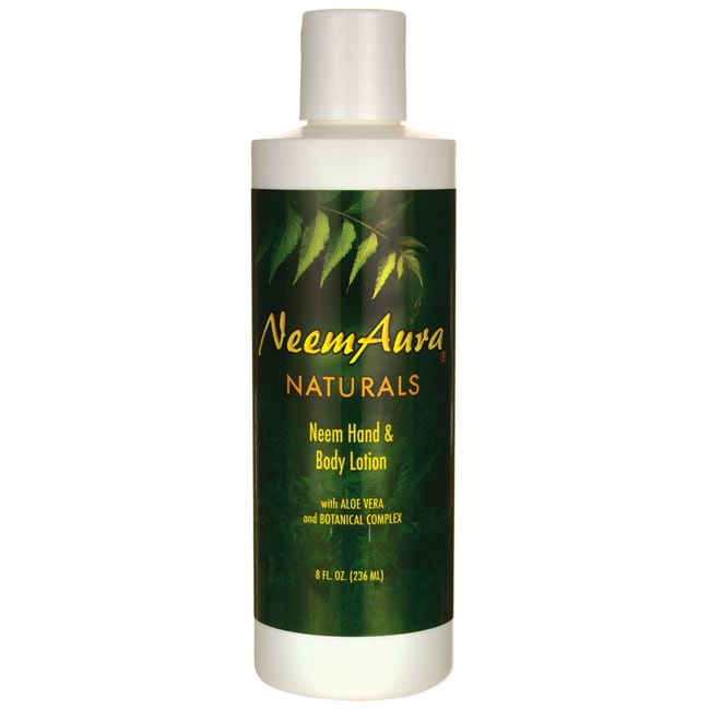 NeemAura Naturals Neem Hand & Body Lotion With Aloe Vera