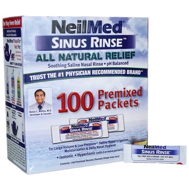NeilMed Pharmaceuticals Sinus Rinse Premixed Packets