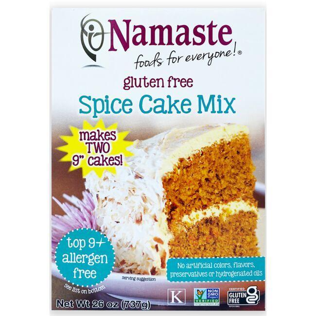 Namaste FoodsSpice & Carrot Cake Mix