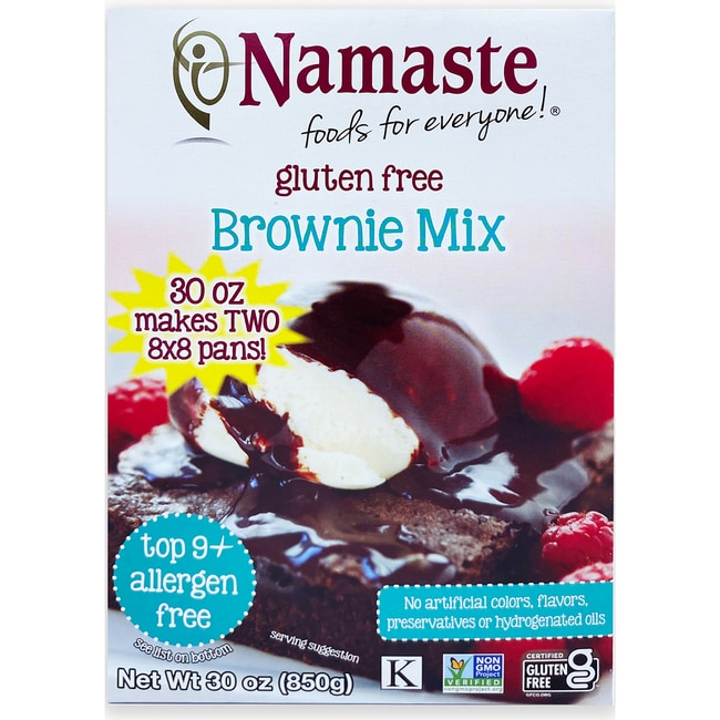 Namaste FoodsBrownie Mix