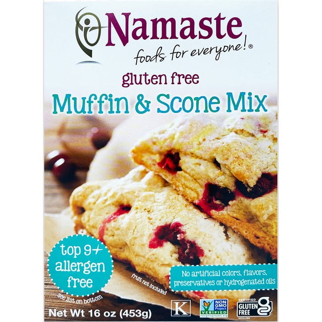 Namaste FoodsMuffin & Scone Mix