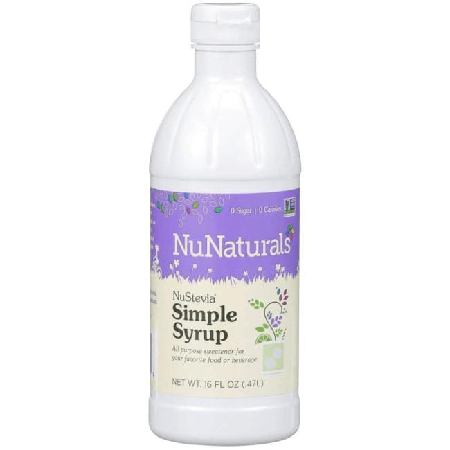 NuNaturalsNuStevia Simple Syrup