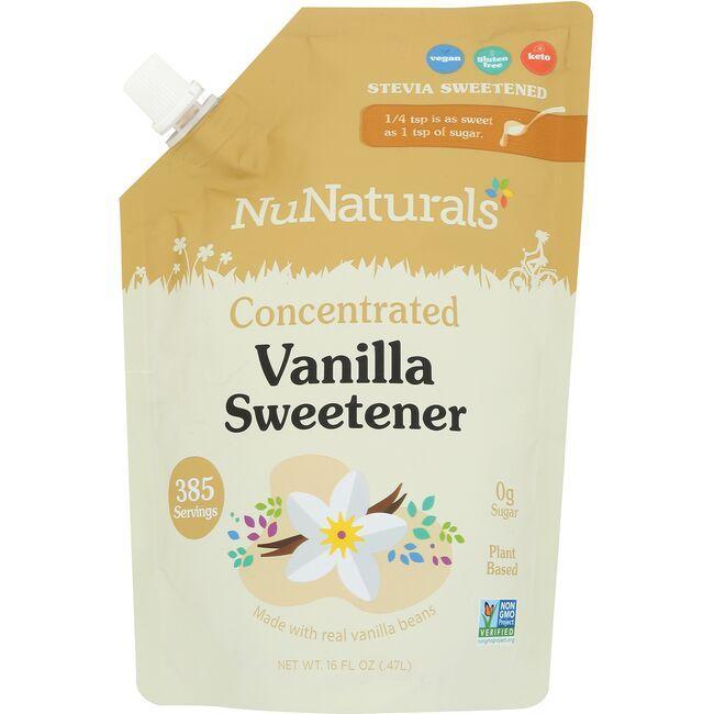NuNaturalsNuStevia Vanilla Syrup