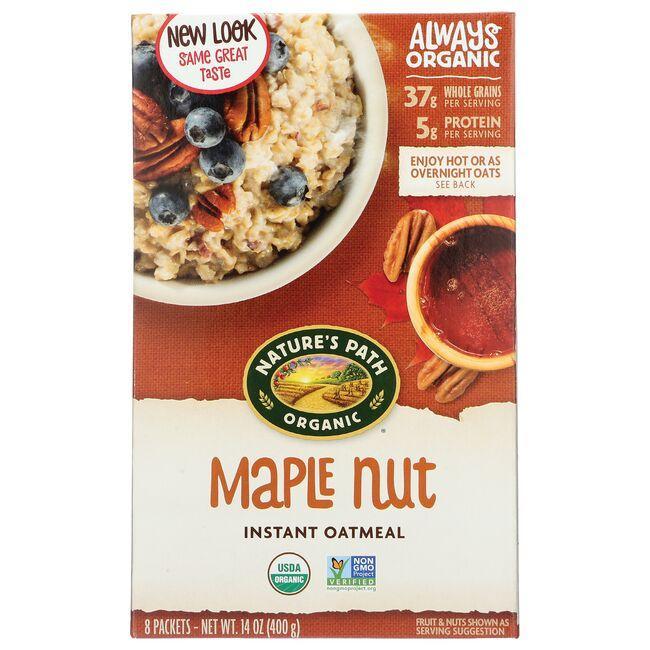 Nature's PathOrganic Instant Hot Oatmeal Maple Nut
