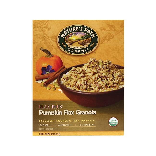 Pumpkin Flax Granola By Nature S Way