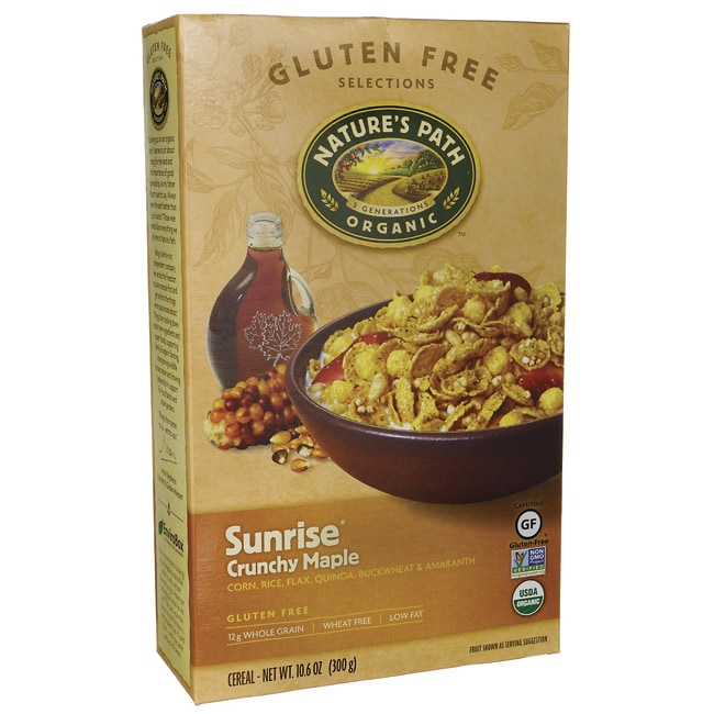 Nature's PathOrganic Sunrise Cereal - Crunchy Maple