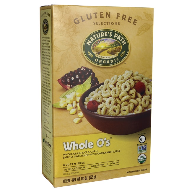 Nature's Path Organic Whole O's Cereal 11.5 Oz Pkg