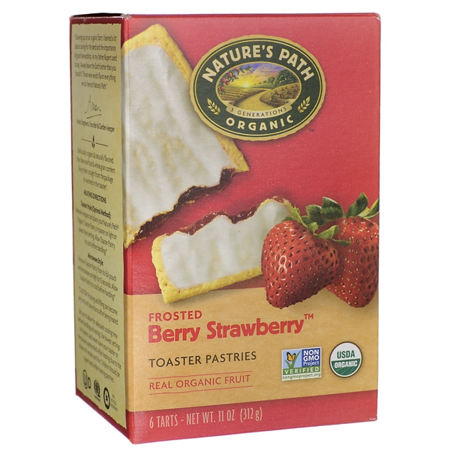 Nature S Path Organic Toaster Pastries Frosted Berry