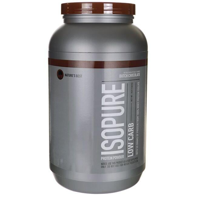 Nature's BestIsopure Low Carb - Dutch Chocolate