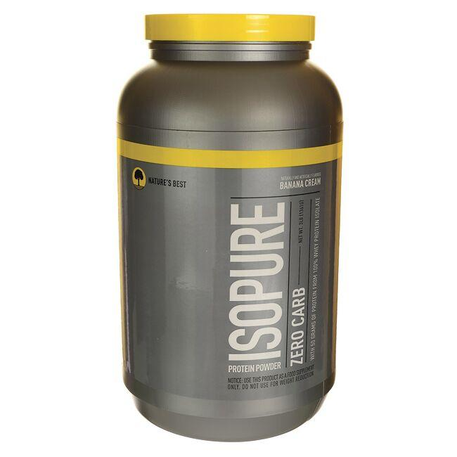 Nature's BestIsopure Zero Carb Protein Powder Banana Cream