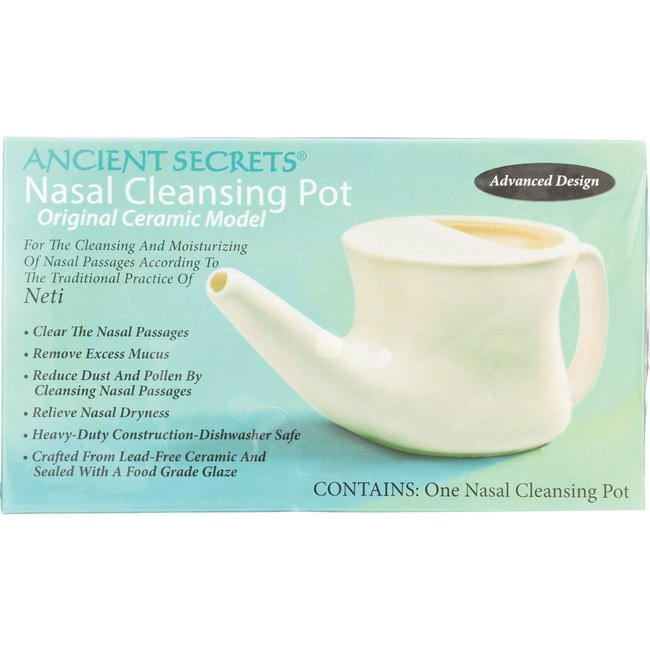 Ancient SecretsNasal Cleansing Neti Pot
