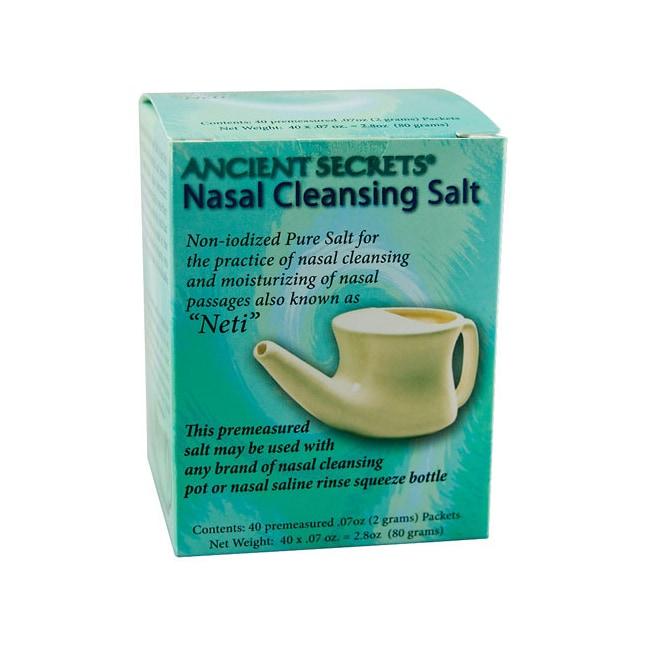 Ancient SecretsAncient Secrets Nasal Cleansing Salt Packets