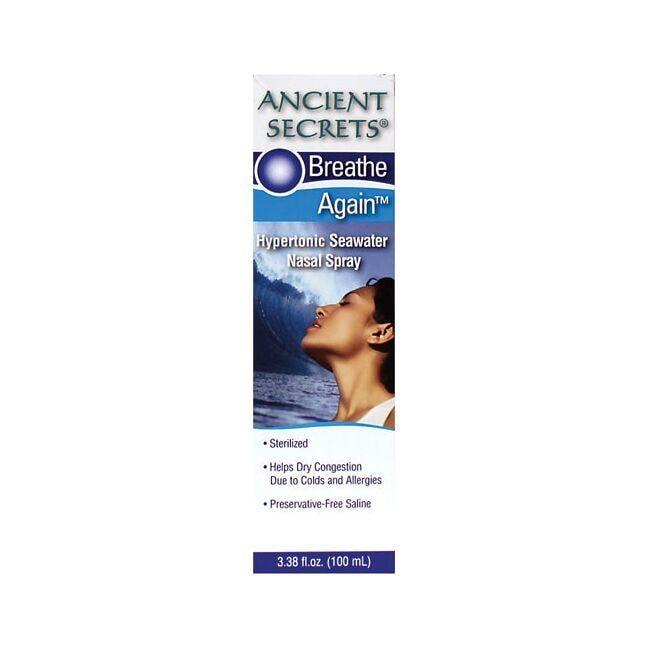 Ancient SecretsHypertonic Seawater Nasal Spray