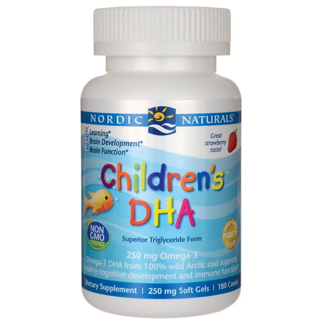 Nordic NaturalsChildren's DHA Chewables - Strawberry