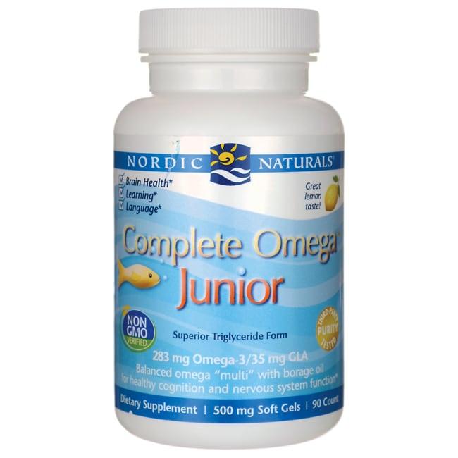 Nordic NaturalsComplete Omeaga Junior - Lemon