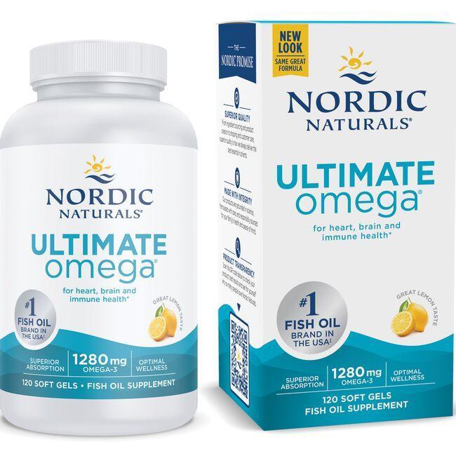 Nordic NaturalsUltimate Omega - Lemon