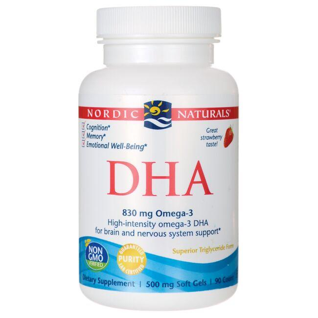 Nordic Naturals DHA - Strawberry