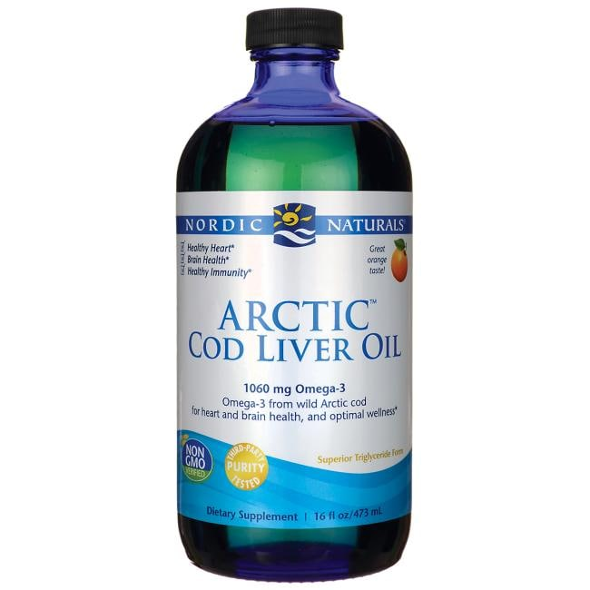 Nordic NaturalsArctic Cod Liver Oil - Orange