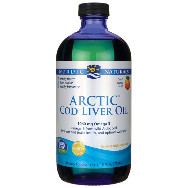 Nordic Naturals Arctic Cod Liver Oil Orange