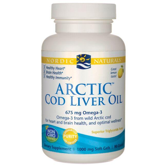 Nordic NaturalsArctic Cod Liver Oil - Lemon
