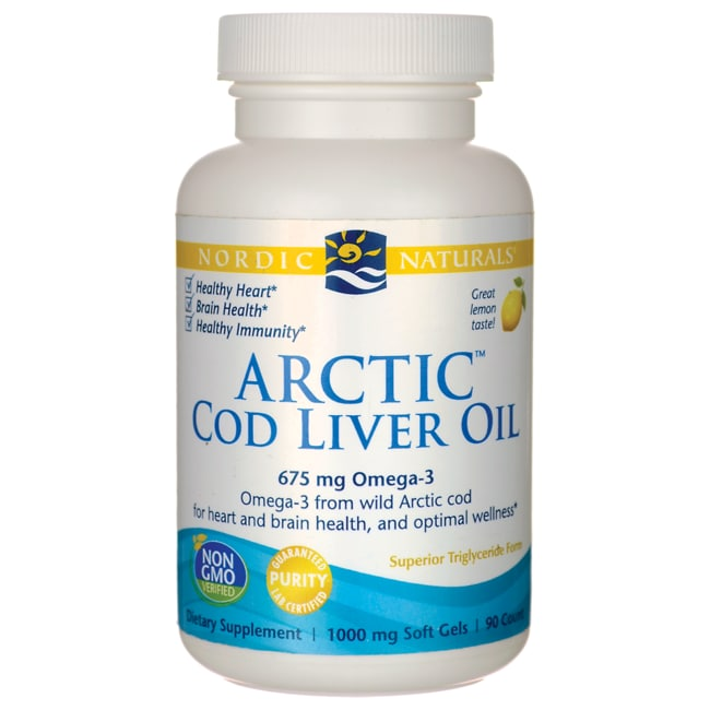 Nordic Naturals Cod Liver Oil Lemon