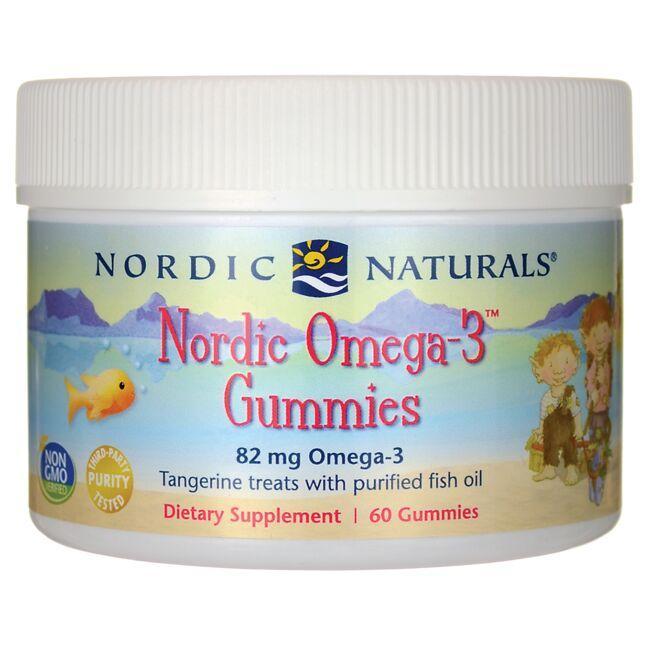 Nordic NaturalsNordic Omega-3 Gummies - Tangerine