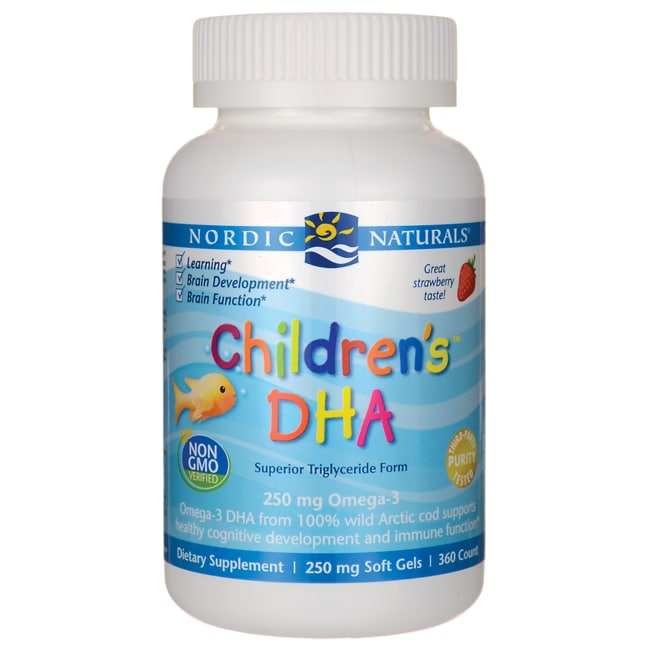 Kids vitamins with dha