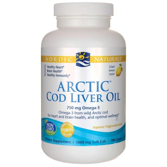 Nordic NaturalsArctic Cod Liver Oil - Lemon