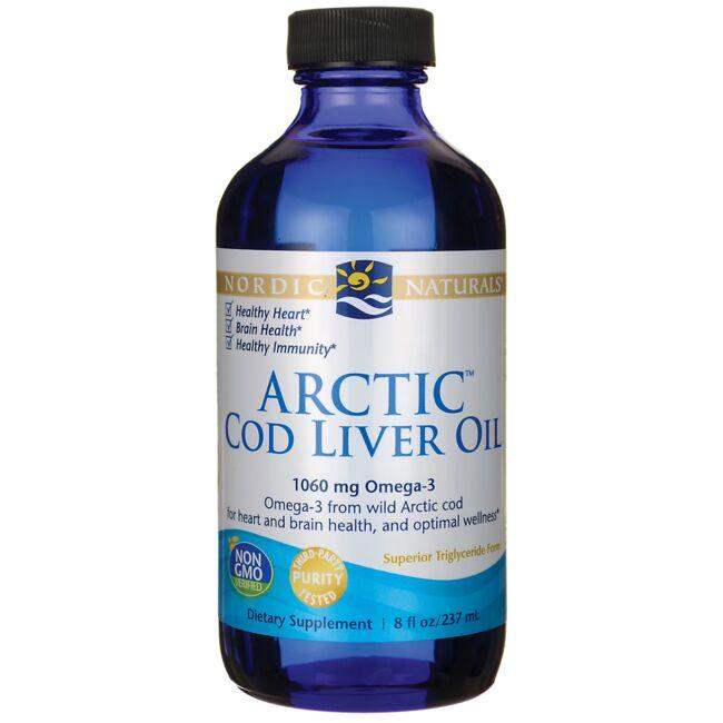Nordic NaturalsArctic Cod Liver Oil - Unflavored
