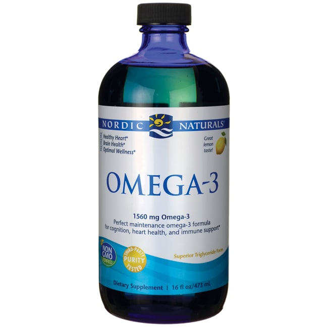 Nordic naturals omega 3 purified fish oil lemon flavor for Nordic naturals fish oil liquid