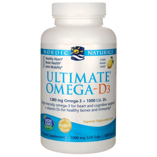 Nordic NaturalsUltimate Omega-D3