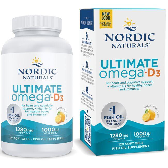 Nordic NaturalsUltimate Omega-D3 - Lemon