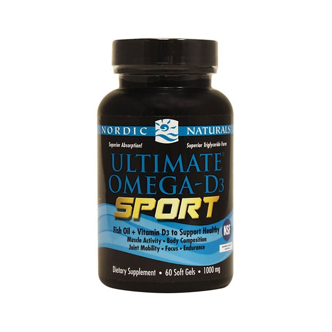 Nordic NaturalsUltimate Omega-D3 Sport